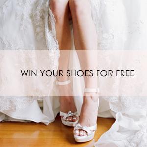 Win your free bridal shoes or dyeable shoes